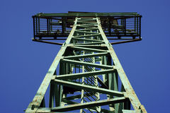 Groene Toren. Stock Foto's