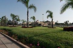 Groene tuin Rabat Royalty-vrije Stock Afbeeldingen
