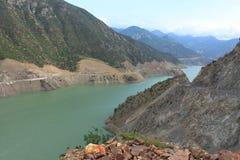 Groene Turkse rivier Stock Fotografie