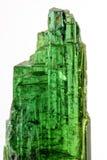Groene turmaline Royalty-vrije Stock Afbeeldingen