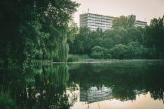 Groene urbanism Royalty-vrije Stock Foto