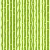 Groene van de Bamboeboom Vlakke Vector Als achtergrond Stock Afbeeldingen