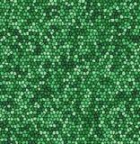 Groene van het mozaïekaders van de Bladtextuur de oppervlakte vectorachtergrond Royalty-vrije Stock Foto