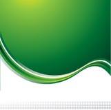 Groene vectorachtergrond Royalty-vrije Stock Foto