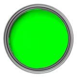 Groene verf Royalty-vrije Stock Afbeelding