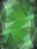 Groene verfrommelde document abstracte achtergrond Royalty-vrije Stock Afbeelding