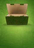 Groene verpakking royalty-vrije stock foto