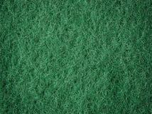 Groene vezelige macroachtergrond Royalty-vrije Stock Foto's