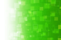 Groene vierkante abstracte achtergrond Royalty-vrije Stock Foto