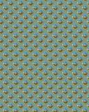 Groene Vierkante Diamondplate Royalty-vrije Stock Foto's