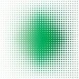 Groene vlek Stock Foto