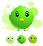 Groene vogel vector illustratie