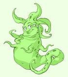 Groene vreemdeling Royalty-vrije Stock Foto