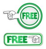 Groene vrij royalty-vrije illustratie