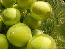 Groene vruchten royalty-vrije stock afbeeldingen