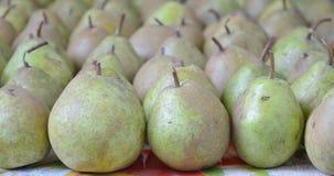 Groene vruchten van perenclose-up Royalty-vrije Stock Afbeeldingen