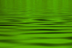 Groene waterAchtergrond Stock Foto