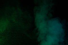 Groene waterdamp Stock Afbeeldingen