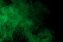 Groene waterdamp Stock Foto's