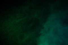 Groene waterdamp Stock Afbeelding