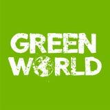 Groene Wereld Stock Foto