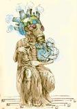 Groene wereld - Nieuwe Mozes II royalty-vrije illustratie