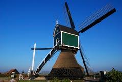 Groene windmolen Stock Afbeeldingen