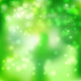 Groene witte gloedachtergrond Stock Foto