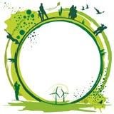 Groene world.eps Royalty-vrije Stock Foto