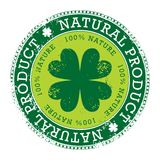 Groene zegel Stock Afbeeldingen