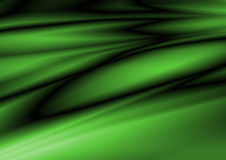Groene zijde Royalty-vrije Stock Foto