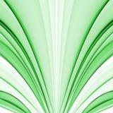 Groene zijde stock illustratie