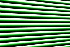 Groene zonneblinden Royalty-vrije Stock Foto's