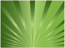 Groene zonnestraal Royalty-vrije Stock Foto's