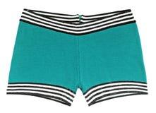Groene zwembroek stock afbeelding