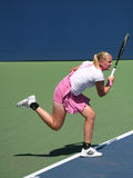 Groenefeld of Germany at the US Open Stock Images