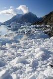 Groenland - de Fjord van het Noordwesten - Scoresbysund Stock Foto
