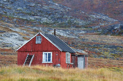 Groenland huisvest 1 royalty-vrije stock foto