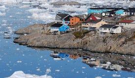 Groenland Ilulissat royalty-vrije stock foto's