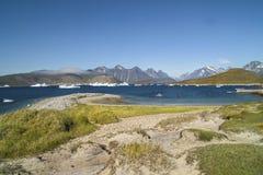 Groenland - landschap stock foto's