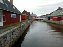 Groenland qaqortoq Royalty-vrije Stock Afbeeldingen