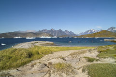 Groenlandia - paisaje fotos de archivo