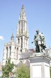 Groenplaats Square, Antwerp, Belgium Stock Photography