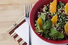 Groensalade met bulgur Royalty-vrije Stock Foto