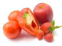 Groente en fruit Stock Foto
