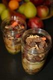Groente en fruitmengeling klaar voor smoothies Stock Afbeelding
