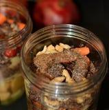 Groente en fruitmengeling klaar voor smoothies Royalty-vrije Stock Fotografie