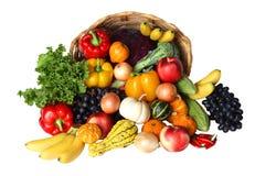 Groente en Vruchten royalty-vrije stock foto's