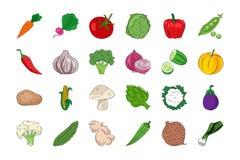 Groente en Vruchten 1 Royalty-vrije Stock Foto