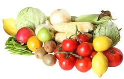 Groente en Vruchten stock foto